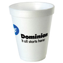 10 oz Customized Foam Cups