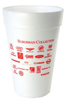 32oz Promotional Foam Cup