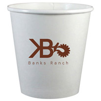 8 oz. Eco-Friendly Disposable Paper Cup