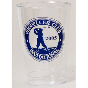 12 oz. Promotional Clear Plastic Tumbler