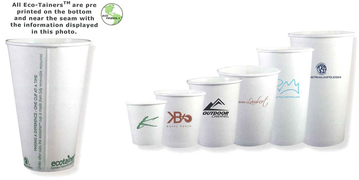 Custom Printed Promotional Paper Cups